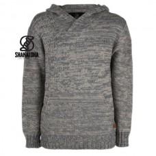 Shakaloha - M Gambler: Kapuzen-Pullover aus Merinowolle für Herren/Unisex