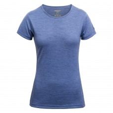 Devold - Breeze Woman T-Shirt: leichtes T-Shirt aus Merinowolle