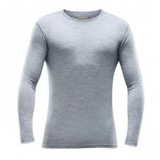 Devold - Breeze Man Shirt: leichtes Langarm-Shirt aus Merinowolle