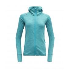 Devold - Nibba Woman Jacket W/Hood: leichte Kapuzen-Jacke für Damen aus Merinowolle