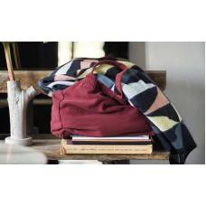Klippan Art Deco Premium Wolldecke mit Merinowolle
