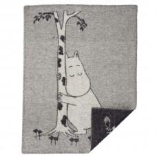 Klippan Moomin tree hug Kinderwolldecke Öko-Tex