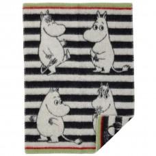 Klippan Moomin Kinderwolldecke Öko-Tex