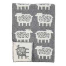 Klippan Sheep Kinder-Wolldecke Öko-Tex mit Schaf-Motiv