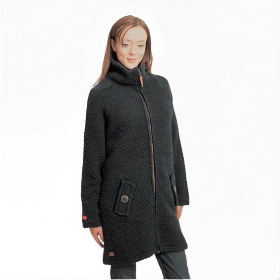 FUZAWOOL L AH Coat WP - Winddichte Jacke für Damen