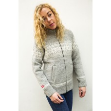 FUZAWOOL L Edna jacket WP - winddichte Strickjacke für Damen