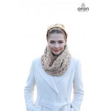 Aran Woollen Mills - weich gestrickter Loop-Schal
