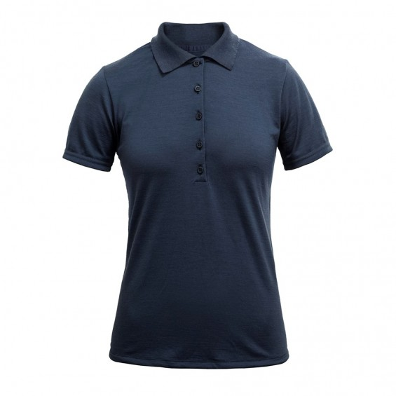 Devold - Grip Woman Pique: Damen-Funktions-Poloshirt