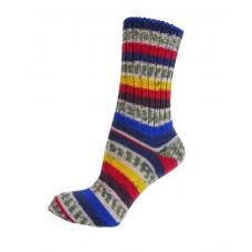 Fair Isle Socks - verschiedene Farben - normale Länge