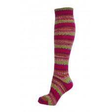 Fair Isle Socks - verschiedene Farben - lange Länge