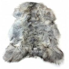 Isländer-Schaffell - grau, langhaarig