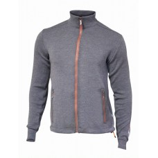 Ivanhoe - Assar Full Zip: sportliche Feinstrick-Jacke für Herren aus Merinowolle