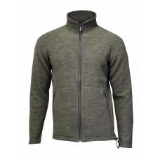 Ivanhoe - Bruno Full Zip: sportive Herrenjacke aus gekochter Walkwolle