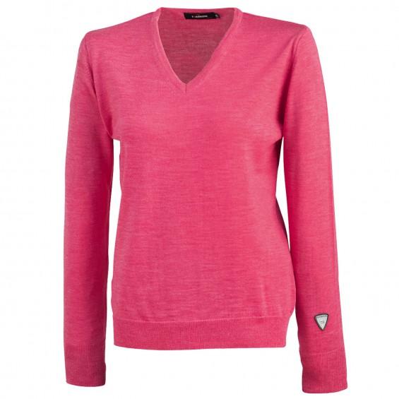 Ivanhoe - Cashwool Female: feingestrickter Pullover für Damen mit V-Ausschnitt