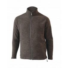 Ivanhoe - Danny Full Zip: sportliche Jacke für Herren aus gekochter Walkwolle