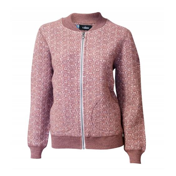 Ivanhoe - GY Ina Jaquard: Damen-Bomberjacke aus Wolle
