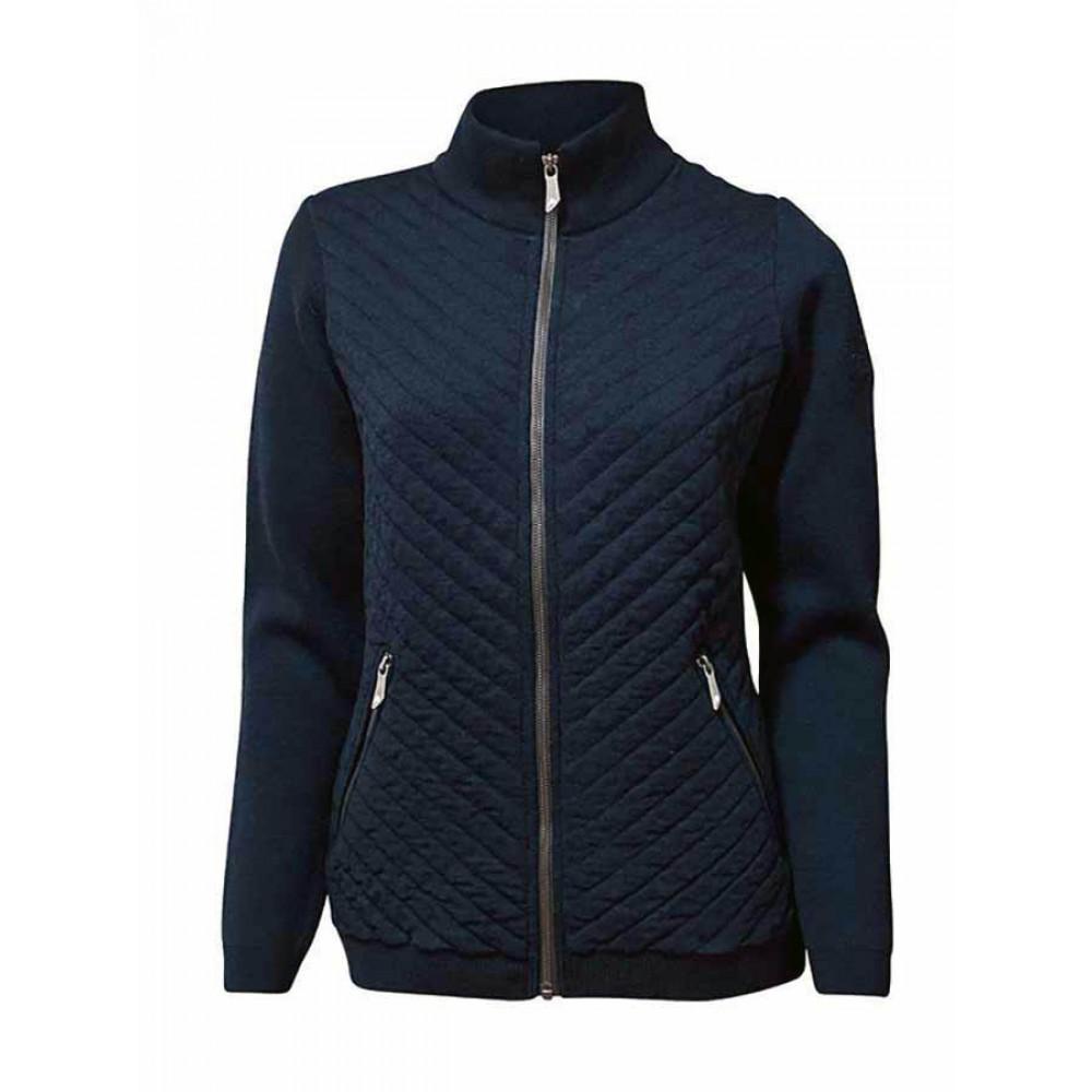 cheap for discount 41fba 812fa Ivanhoe - Kicki Full Zip: Strickjacke für Damen aus extra feiner Merino  Wolle