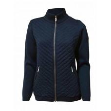 Ivanhoe - Kicki Full Zip: Strickjacke für Damen aus extra feiner Merino Wolle