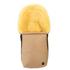 Schlafsack aus Schaffell für Babysitz oder Reiseschale