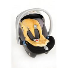 Lammfellauflage für Babysitz oder Buggy