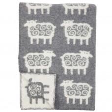 Klippan Sheep Kinder-Wolldecke mit Schafmotiv Öko-Tex