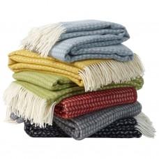 Klippan Leaf Premium Wolldecke mit Merino-Wolle