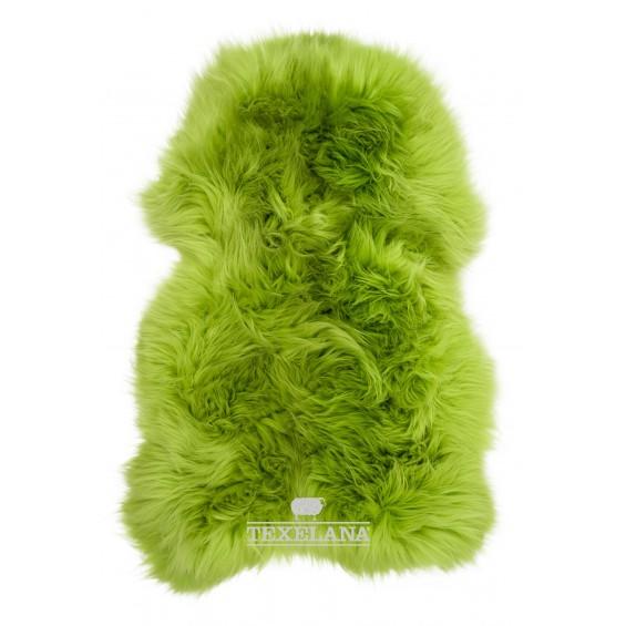 Texelana Schaffell - in Apfelgrün gefärbt