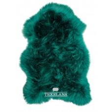 Texelana Schaffell - in Dunkelgrün gefärbt