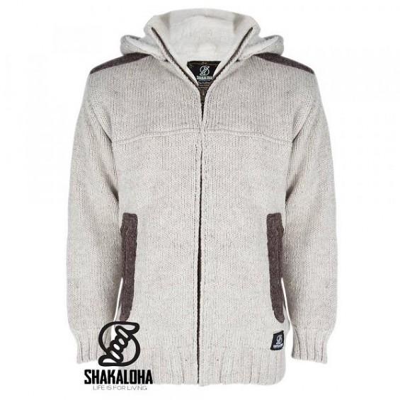 Shakaloha - M Bodhi: gefütterte Herren-Strickjacke