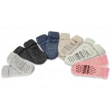 Haus-Socken mit Anti-Rutsch-Noppen von Apollo Natural Wool