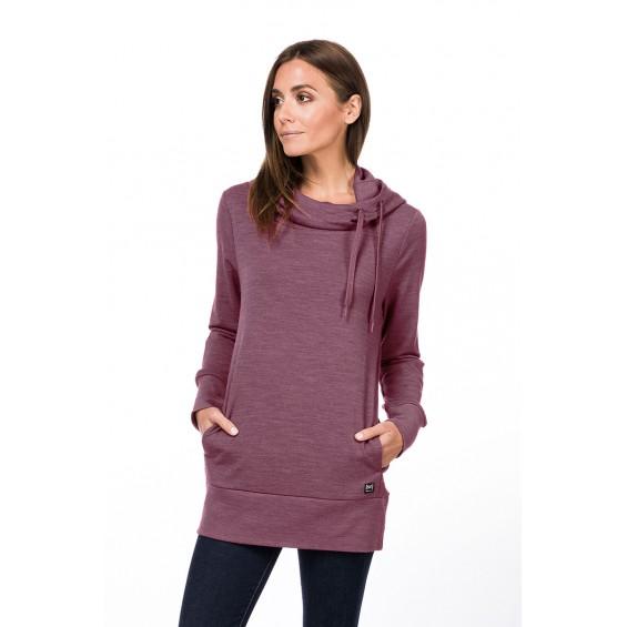 super.natural Essential Tunnel Hoodie - lässiger Damen-Pullover aus Merinowolle