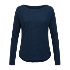 super.natural Waffle Sweater - Damen-Pullover aus Merinowolle