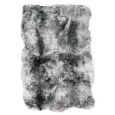 Isländer-Schaffellteppich - grau geschoren