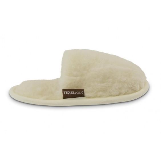 Mara: weiche Slipper-Pantoffeln aus Schafschurwolle