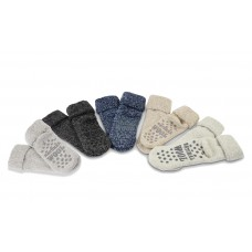 Haus-Socken mit Anti-Rutsch-Noppen von Apollo Natural Wool