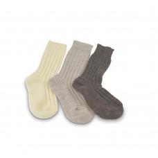 Woll-Socken aus biologisch produzierter Schafwolle