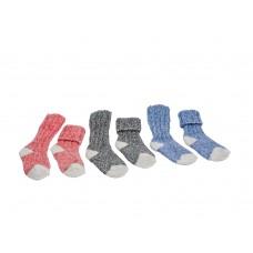 Apollo Kinder-Socken mit Wolle im Doppelpack