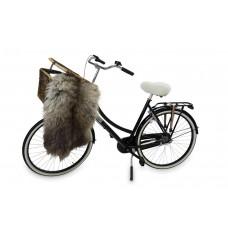 Fahrradsattelbezug aus Schaffell