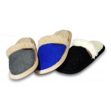Mila: weicher Slipper-Pantoffel gefüttert mit Schafwolle
