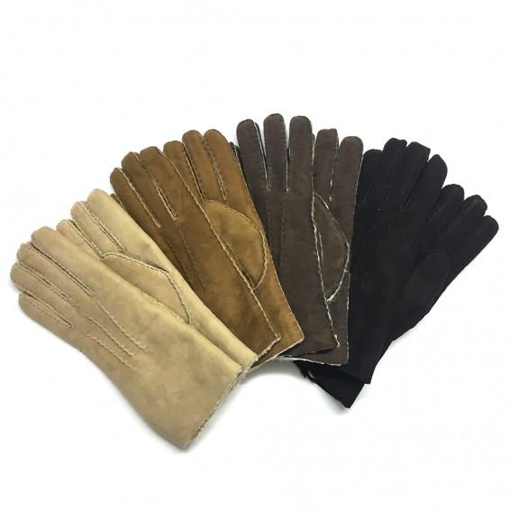 Edle Lederhandschuhe aus Schaffell
