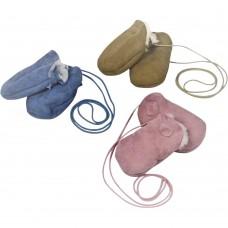 Fäustlinge aus Schaffell für Babys und Kinder