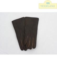 Handschuhe aus Lammsfell Aubergine (solange der Vorrat hält)