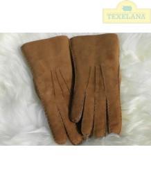 Handschuhe aus Lammsfell Cognac (solange der Vorrat hält)